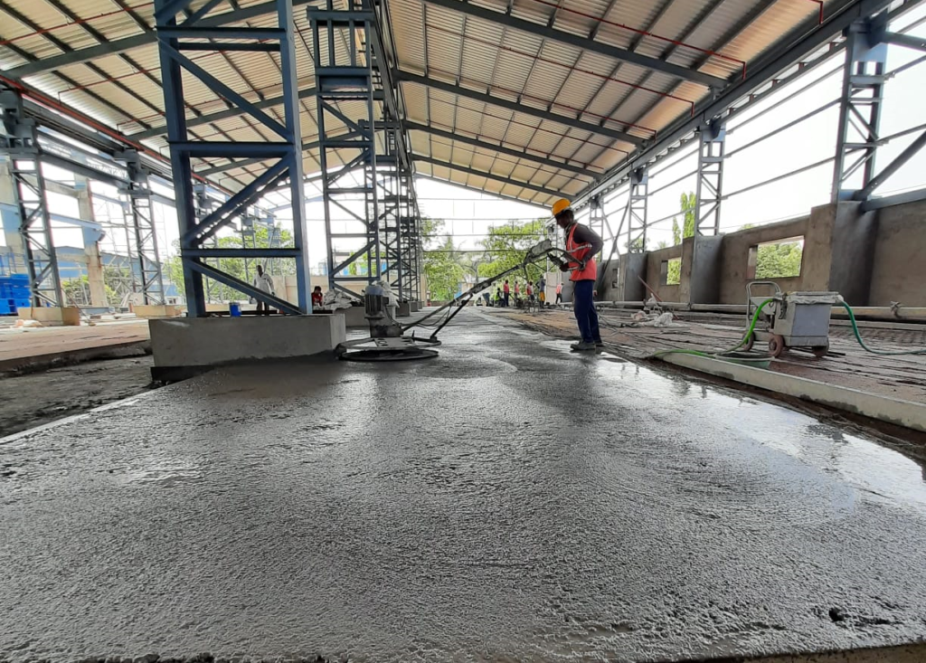 Industrial Shed Foundation Contractors